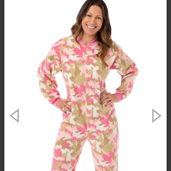 big feet pajama co Other - Adult footed onesie pajamas with drop seat.